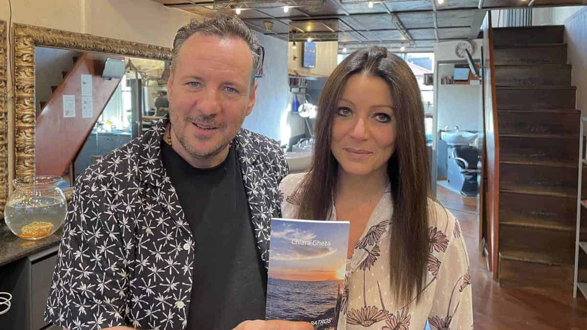 Oscar Carrara con Chiara Gheza