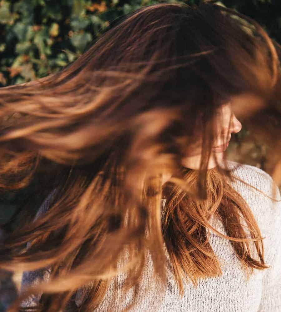 Coloriamoci d'autunno – capelli scuri e rossi